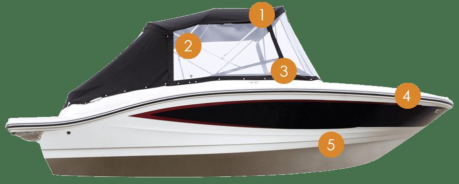 Motorboot Illustration Mobil